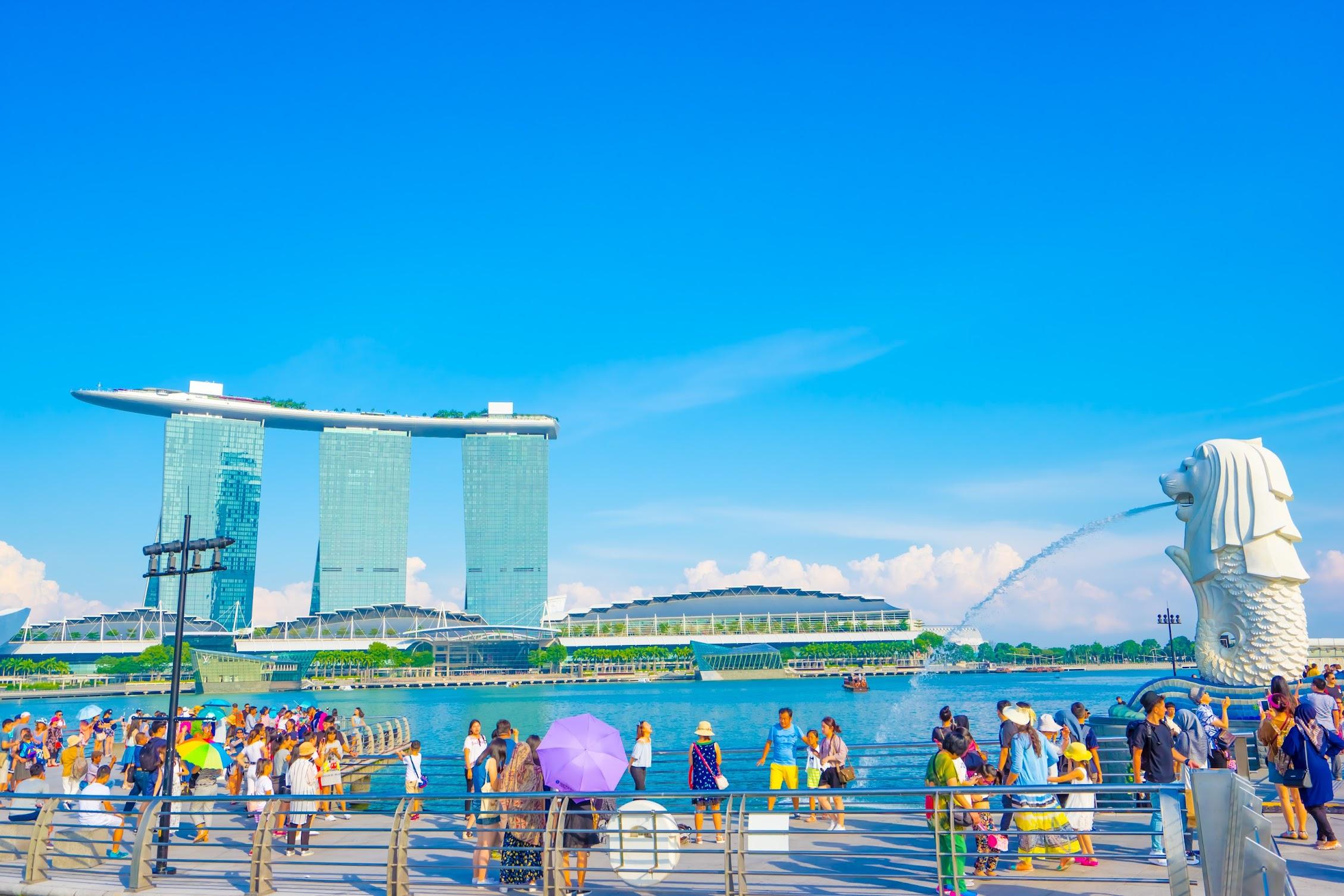 シンガポール マーライオン・パーク2