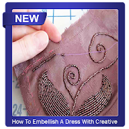 How To Embellish A Dress With Creative Beads APK icon