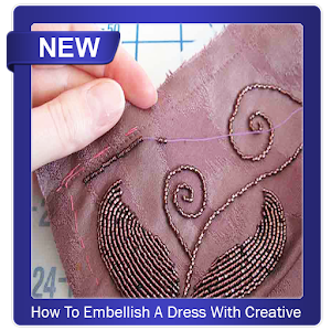 How To Embellish A Dress With Creative Beads APK Download for Android