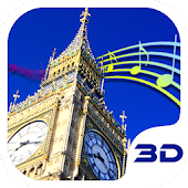 London Big Ben Clock 3D Theme
