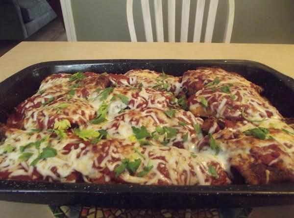 Chicken Parmigiana (parmesan) Recipe