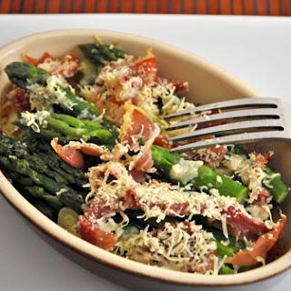 Asparagus Prosciutto Gratin
