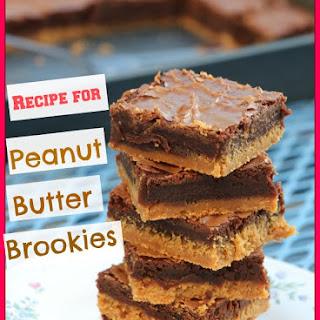 Peanut Butter Brookies.