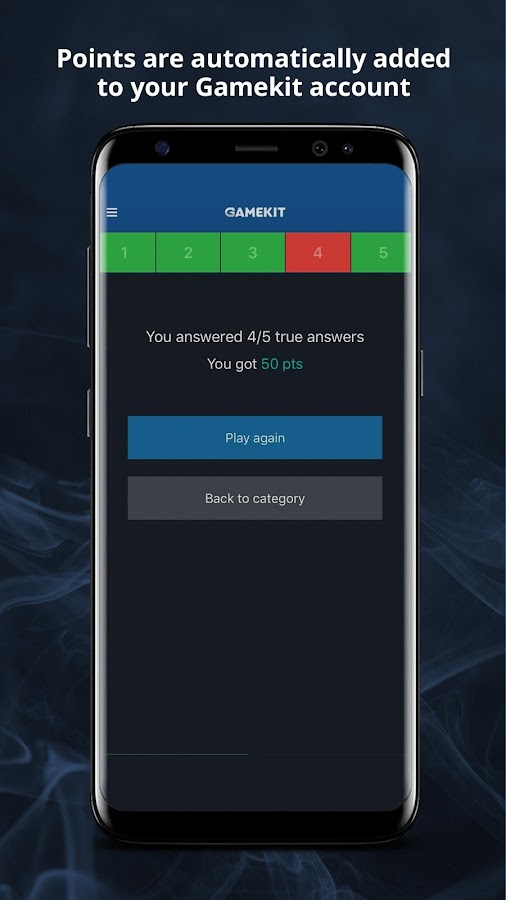 Gamekit Quiz- screenshot