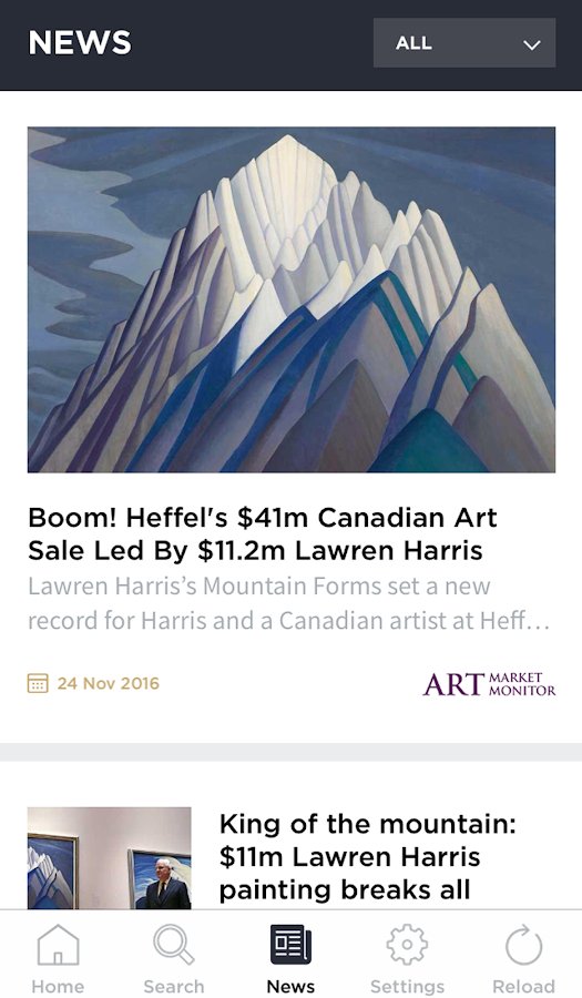 Live Auction Art- screenshot
