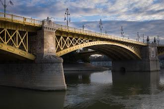 Photo: Beautiful bridge at sunrise.