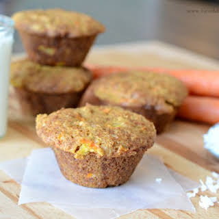 Morning Glory Carrot Muffins.