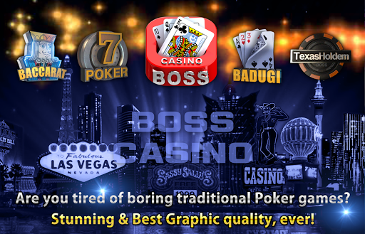 Boss Poker u2013 Texas Holdem Blackjack Baccarat apkslow screenshots 9