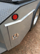 Photo: The rear doors follow the lines of the double dovetail rear.