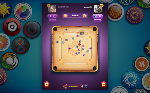Carrom Friends : Carrom Board Game modavailable screenshots 13