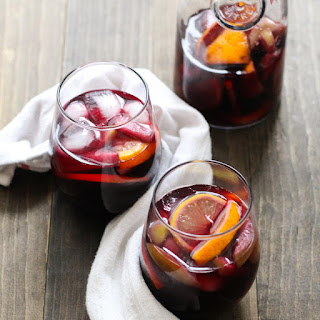 Mulled Apple Cider Sangria.