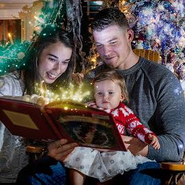 Storytime by Elk Baiter - Public Holidays Christmas ( adams, story, family, fairy, christmas, sparkle, portrait,  )