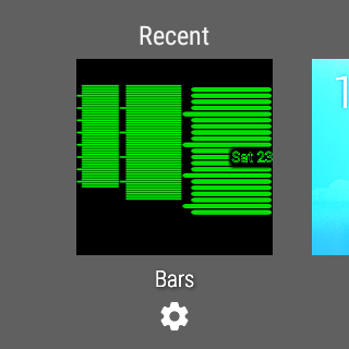 Bars Watch Face 1.1 Windows u7528 3