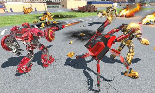 US Police Transform Iron Robot Spider Hero 1.0.3 screenshots 3