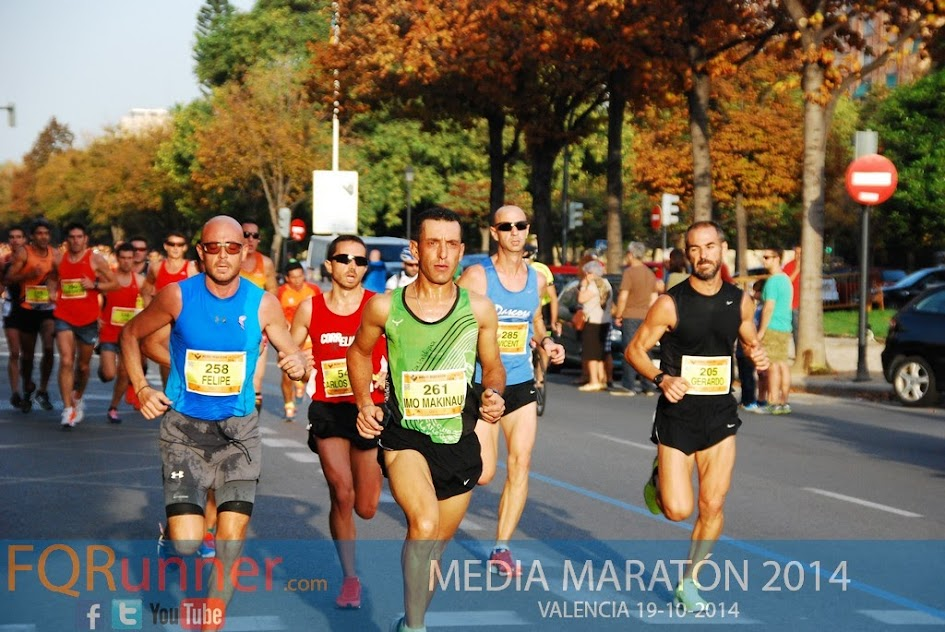 Media Maratón de Valencia 2014