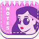 🎀 Fashion Girl Custom Sticky Notes App 🎀 (app)