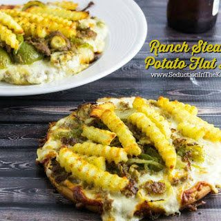 Ranch Steak and Potato Flat Bread.