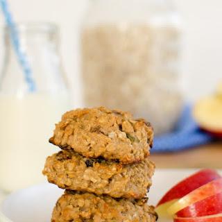 Apple Oat & Raisin Cookies.