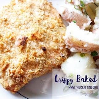 Crispy Baked Salmon.
