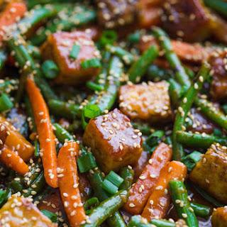 Sesame Ginger Tempeh Stir Fry Recipe