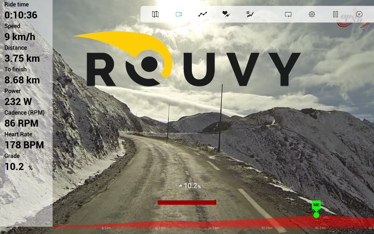 Rouvy- screenshot