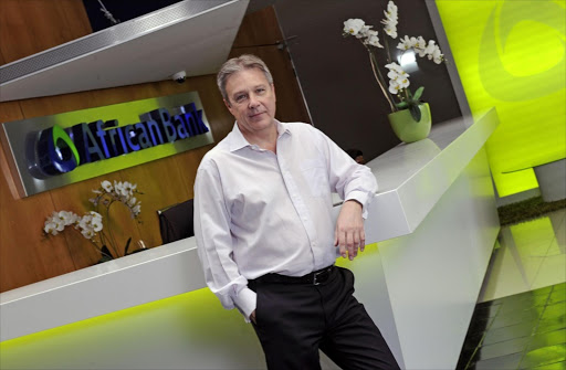African Bank CEO Brian Riley. Picture: RUSSELL ROBERTS