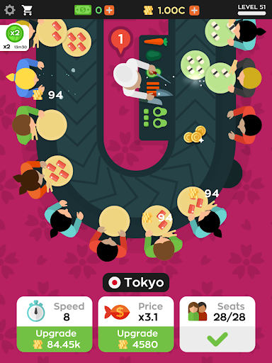 Sushi Bar Idle 2.6.3 Screenshots 6
