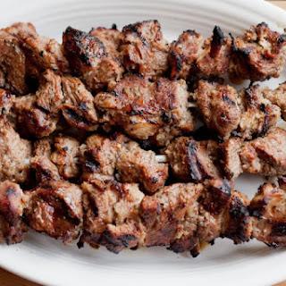 Shashlik (Russian Shish Kebabs).