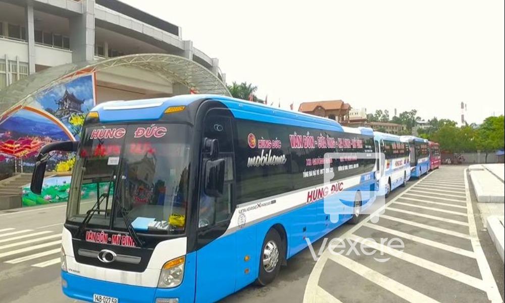 Xe Hùng Đức từ Hà Nội đi Quảng Ninh