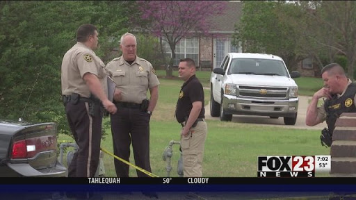 Oklahoma homeowner stands his ground with AR-15: Three dead suspects