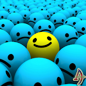 Be Happy- Smiley Xperien Theme