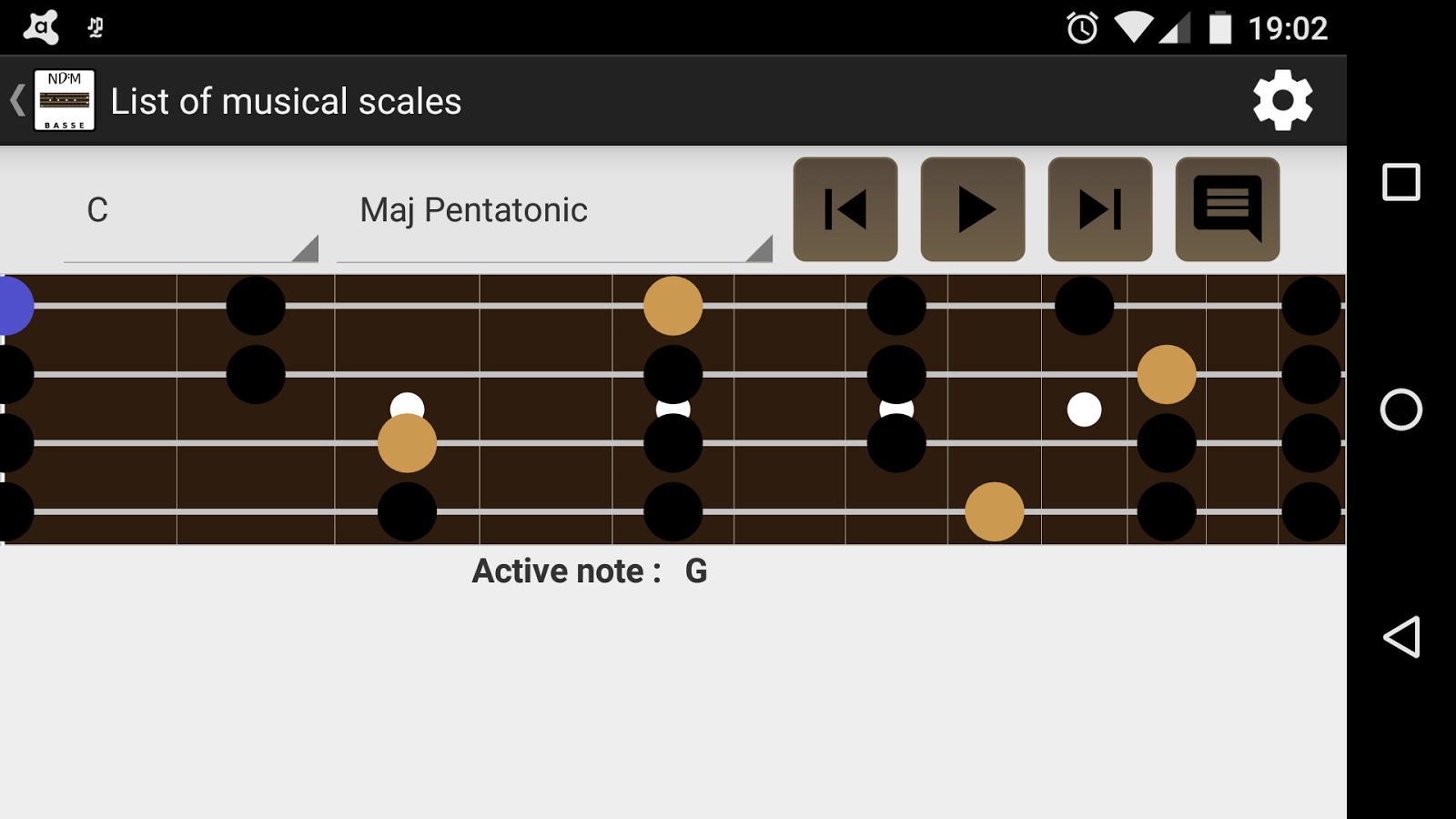 NDM - Basse (Music Notes)- screenshot