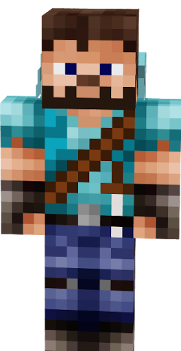 Cute Minecraft Girl Wallpaper Steve Warrior Nova Skin