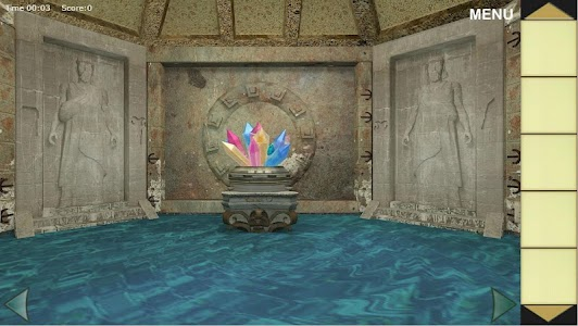 Underwater Palace Escape screenshot 0