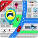 GPS Maps Tracker & Navigation: GPS Route Finder icon