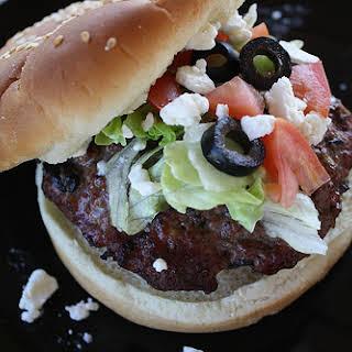 Greek Burger.
