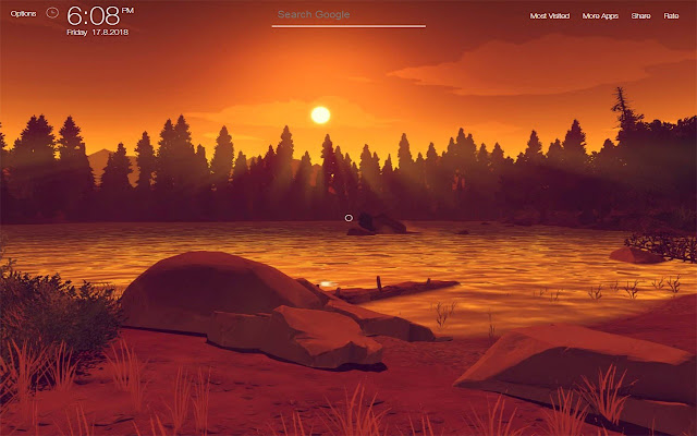 Firewatch Wallpapers FullHD New Tab
