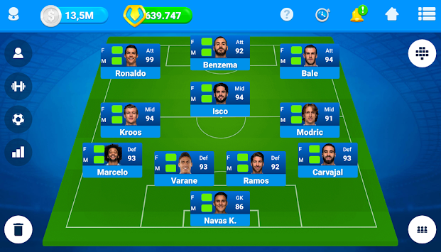 Online Soccer Manager (OSM) apk screenshot