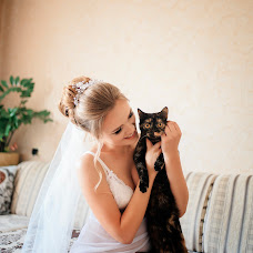 Wedding photographer Darya Carikova (tsarikova). Photo of 21.10.2017