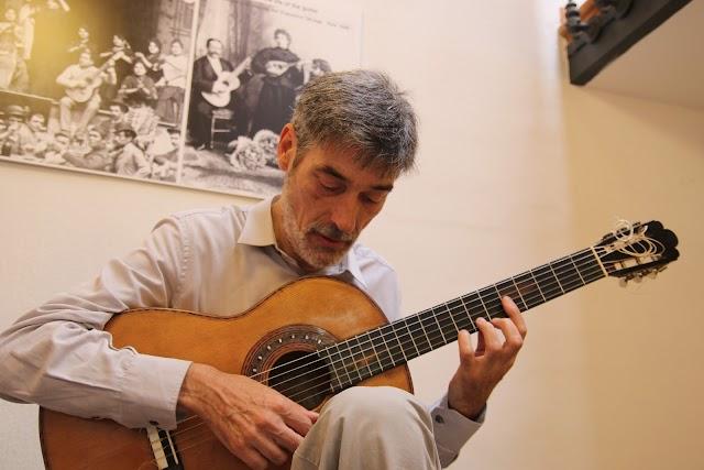 Carles Trepat, guitarrista.