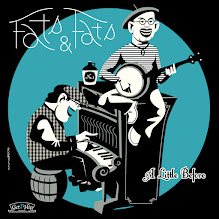 """Photo: Fats & Fats 3rd album """" A LITTLE BEFORE"""". front cover"""