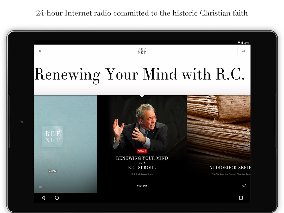 RefNet Christian Radio- screenshot
