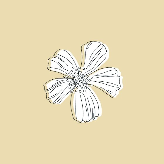 Five-Petal Flower - Instagram Template