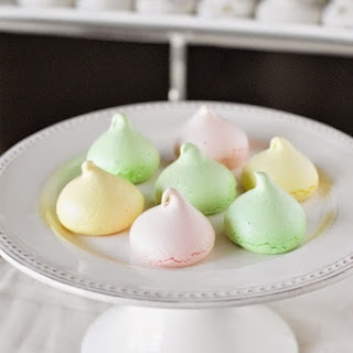 Perfect-for-Spring Pastel Meringue Cookies {Choose Your Flavor}