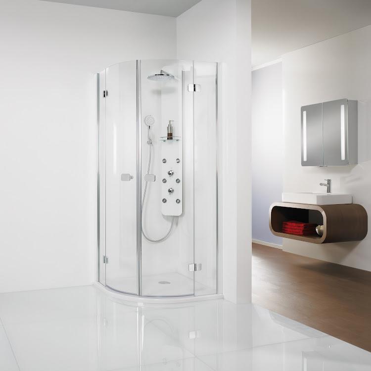 Cabines de douche  _06 Premium Softcube Runddusche, 4-teilig