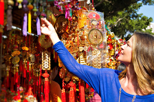 The Wong Tai Sin Temple in Hong Kong.