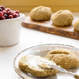 Gluten-free Vegan Teff Oat Rolls