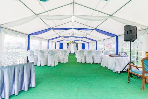 Летний шатер в ресторане Любить по-русски для свадьбы 2