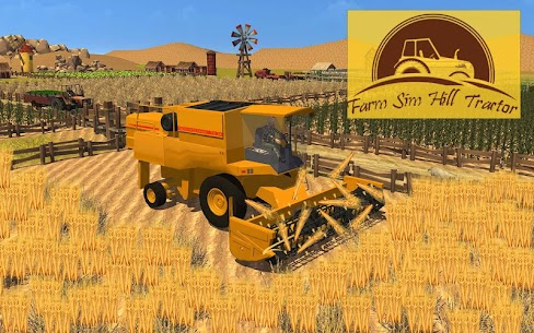 Farming Sim Hill Tractor 1.6 Mod Android Updated 1