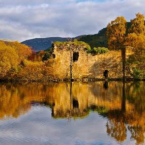 CASTLE GRANT 1, LOCHAN EILLEN, CAIRNGORMS, SCOTLAND  by Ross Hutton - Landscapes Waterscapes